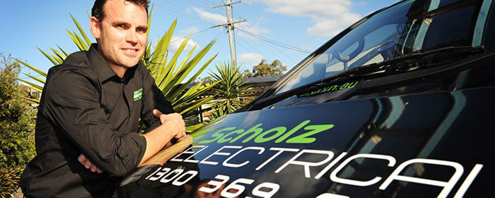 Master electrician - Michael Scholz, Managing director of Scholz Electrical