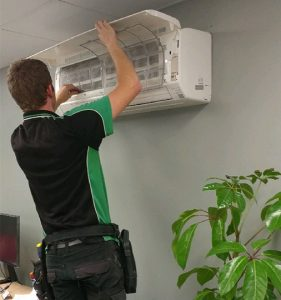 Air conditioning installation by Scholz Electrical